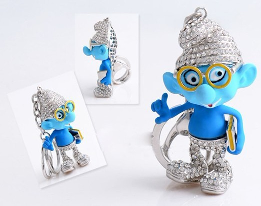 Smurfs murry pendant