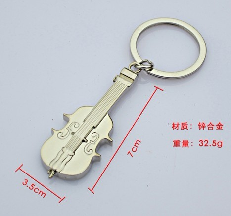 The key is hanging elegant violin